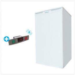 Up-Right Freezer -25°C Capacity : 68L With Alarm Buzzer
