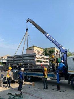 Update ความคืบหน้างานก่อสร้างระบบจอดรถอัตโนมัติ โครงการ  Vanissa Building