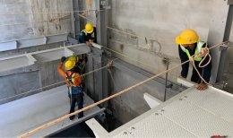 Update ความคืบหน้างานก่อสร้างระบบจอดรถอัตโนมัติ โครงการ  Vanissa Building ครั้งที่ 2