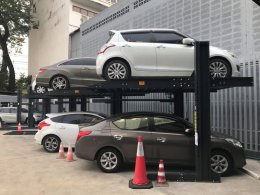 The installation of the G-08 GSP Stack Parking system was completed on January 10, 2018. Installation time is 2 weeks.