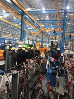 G-Park Invites Representatives from Land & Houses Plc. To Visit Dongyang Menics Auto Factory, KOREA