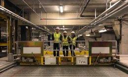 G-PARK ดูงานอาคารจอดรถเครื่องจักรกลอัตโนมัติ Lödige , Denmark