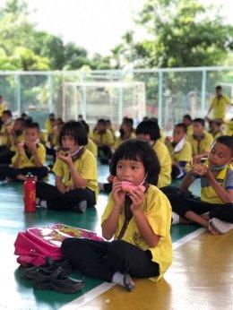 มูลนิธิจากนางฟ้าถึงคุณวันใหม่มอบทุนการศึกษา และ เครื่องอุปโภคบริโภค ให้แก่โรงเรียนศึกษาสงเคาระห์บางกรวยจ.นนทบุรี