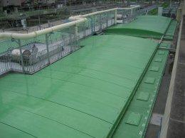 FRP Cover wastewater ฝาปิดบ่อไฟเบอร์กลาสสำหรับบ่อบำบัดน้ำเสีย