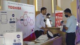 Toshiba Lighting  เข้าร่วมจัดแสดงผลิตภัณฑ์ ภายในงานประชุมผู้ใช้ไฟฟ้าภาคธุรกิจอุตสาหกรรม จังหวัดปทุมธานี ประจำปี 2563