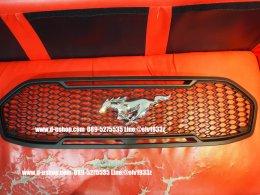 กระจังหน้าดำ5D ตรงรุ่น Ford Everest All New 2015ลายมัสแตง