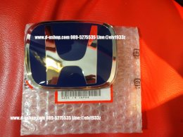 โลโก้ H สีน้ำเงิน หน้า Honda City All New 2014