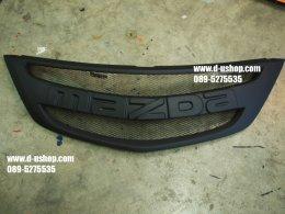 กระจังหน้าดำด้าน Mazda BT-50 Pro All New 2012 สไตล์ Racing V.2