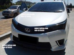 หุ้มฟิล์มไฟหน้า Toyota Vios All New 2014