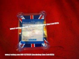 ที่ติดแผ่นป้าย พรบ. สูญญากาศ ลายธงชาติอังกฤษแดงน้ำเงินออริจินัล