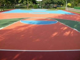 Bike Lane & Sport Court Coating