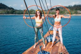 Cruise Away to Your Yoga Holiday with Vickie Vibe