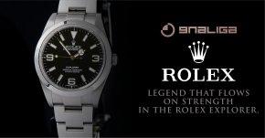 ตำนานที่ไหลเวียนอยู่บนความแข็งแกร่งใน Rolex Explorer