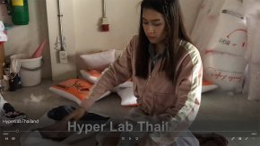 คลิปการเป่าหมอนจาก Hyper Lab Thailand