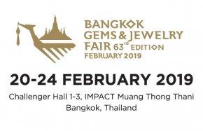 Bangkok Gems & Jewelry Fair 63rd 2019