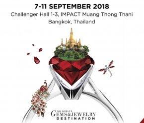 Bangkok Gems & Jewelry Fair 62nd 2018