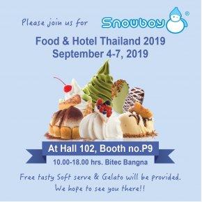 งาน Food & Hotel  Thailand 2019