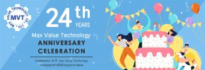 24th Anniversary of Max Value Technology