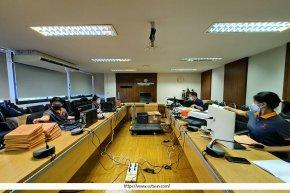 ทีม Data Staff เข้าปฏิบัติงานสแกนเอกสาร กพ.7 กรมควบคุมโรค