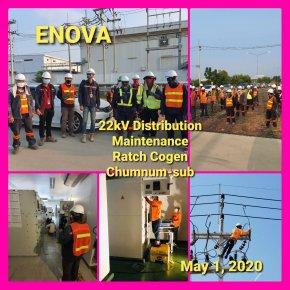 22kV Distribution Mainance RCO Chumnum SUB