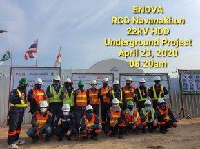 22kV Underground HDD NCO Navanakorn