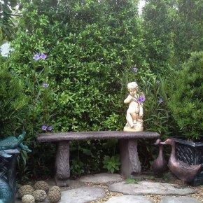 มุมนั่งเล่นสวนอังกฤษ