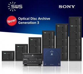 NEW Optical Disc Archive (ODA) Generation 3
