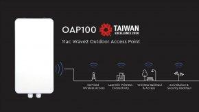 OAP100 Enterprise Outdoor Access Point ตอบโจทย์ทุกการใช้งาน