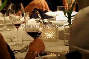 Valduero Night wine tasting with chef's choice food pairing experience