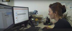 ผู้หญิงกับการทำงานในทีม  ANSYS