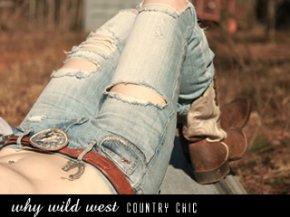 street fashion -  WHYWILDWEST country chic แอบซ่าส์!!กับสาวคาวเกิร์ล