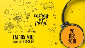 ENERGY IN TREND - FM 105 - 26.12.2019