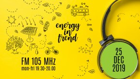 ENERGY IN TREND - FM 105 - 25.12.2019