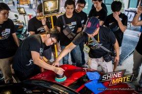 งานอบรม Shine Mate & 3D HD Workshop หัวข้อการขัดฟื้นฟูสภาพสีรถ Paint Correction System (PCS)