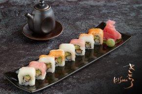 โปรโมชั่นซูชิและโรล ทานได้ไม่อั้น ณ ห้องอาหารญี่ปุ่นคิซาระ