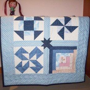 อุปกรณ์พื้นฐานงานควิลท์สำหรับทำผ้านวม, ผ้านวมคลุมเตียง