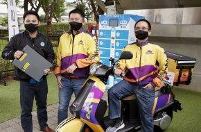 """เอช เซม จับมือ โรบินฮู้ด ส่ง สองล้อไฟฟ้า ร่วมโครงการ """"Robinhood EV Bike Model"""""""