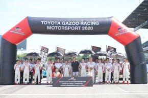 """โตโยต้า กาซู เรซซิ่ง มอเตอร์สปอร์ต 2020 และ  """"TOYOTA EXECUTIVE CHARITY RACE 2020"""" แข่งขันสุดเร้าใจ"""