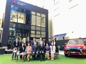 เอกอัครราชทูต ณ กรุงโตเกียว เยี่ยมชมโชว์รูมจัดแสดงนวัตกรรมแห่งใหม่ของ มิตซูบิชิ มอเตอร์ส