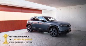 MAZDA MX-30 พิชิต TOP 3 WORLD CAR DESIGN OF THE YEAR 2021