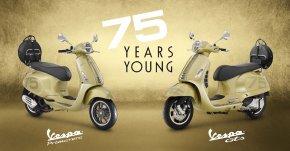 เวสป้าฉลองครบรอบ 75 ปี ผ่าน 2 รุ่นสุดคลาสสิกอย่าง PRIMAVERA 150 i-Get ABS และ GTS 300 HPE