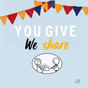You give We share: Activity to give children a smile at Gift of Happiness Foundation