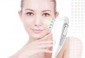 V shape facial with HIFU super lift