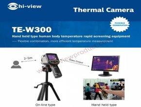 คู่มือการใช้งานเครื่องตรวจจับอุณหภูมิ Hiview TE-W300