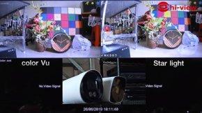ตอน  Camera Star light and Camera color Vu กล้องวงจรปิด กลางคืนภาพเป็นสี Star light & color Vu