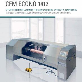 CFM ECONO 1412 แนวคิดในการขัดผิวลูกแม่พิมพ์โดยโหลดด้านหน้าอย่างคล่องตัวและมีประสิทธิภาพ