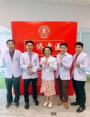 大医精诚  回馈社会                          --华侨中医院感谢参加华为义诊的医护人员