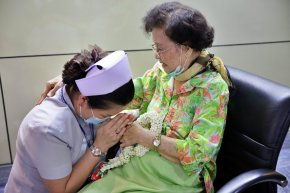 พิธีมุทิตาจิตเกษียณอายุงาน แพทย์จีนหวางเอี้ยนจวง