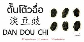 ตั้นโต้วฉื่อ 淡豆豉 -  ข้อมูลสมุนไพรจีน