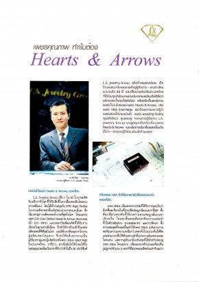 เพชรคุณภาพทำไมต้อง Hearts & Arrows by LS Jewelry Group #Lee Seng